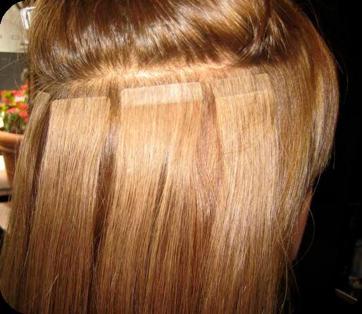 Tapet hår extenstion